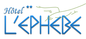 Hôtel l'Ephebe hotel logohotel logo