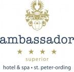 ambassador hotel & spa Hotel Logohotel logo