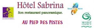 Logo de l'établissement HOTEL SABRINAhotel logo