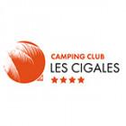 Camping Les Cigales hotel logohotel logo