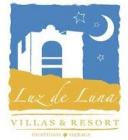 Villas & Resort Luz de Luna logotipo del hotelhotel logo