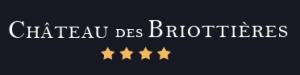 Logo de l'établissement Château des Briottièreshotel logo
