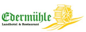 Landhotel & Restaurant Edermühle Hotel Logohotel logo