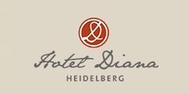 Garni Hotel Diana Heidelberg Hotel Logohotel logo