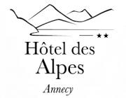 Logo de l'établissement Hôtel des Alpeshotel logo