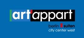 art'appart - berlin suiten Hotel Logohotel logo