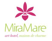 logo hotel Miramare art hotel, maison de charmehotel logo