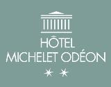 Hôtel Michelet Odéon hotel logohotel logo