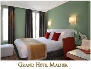 Grand Hôtel Malher hotel logohotel logo