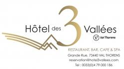 Hôtel des 3 Vallées hotel logohotel logo