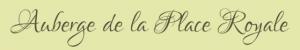 Auberge de la Place Royale hotel logohotel logo