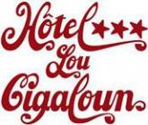 Lou Cigaloun hotel logohotel logo
