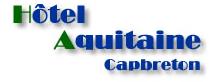 Hôtel Aquitaine*** hotel logohotel logo