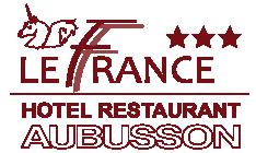 Hôtel de France hotel logohotel logo