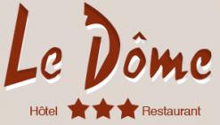Logo de l'établissement Hôtel Le Dômehotel logo