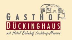 Gasthof Dückinghaus Hotel Logohotel logo