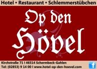 """Hotel – Restaurant """"Op den Hövel"""" Hotel Logohotel logo"""