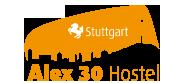 ALEX 30 Hostel Hotel Logohotel logo