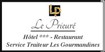 Logo de l'établissement Hôtel - Restaurant Le Prieuréhotel logo