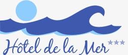Logo de l'établissement Hotel de la merhotel logo
